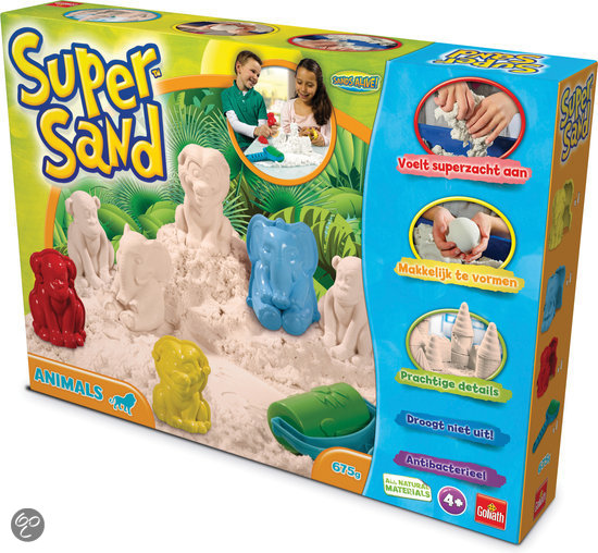 Kinetisch zand Super Sand dieren