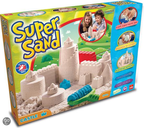 Kinetisch zand Super Sand Kasteel