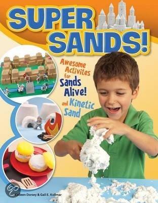 Boekje met voorbeelden van Kinetisch Super Sand
