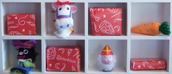 Een aftelkalender voor Sinterklaas knutselen