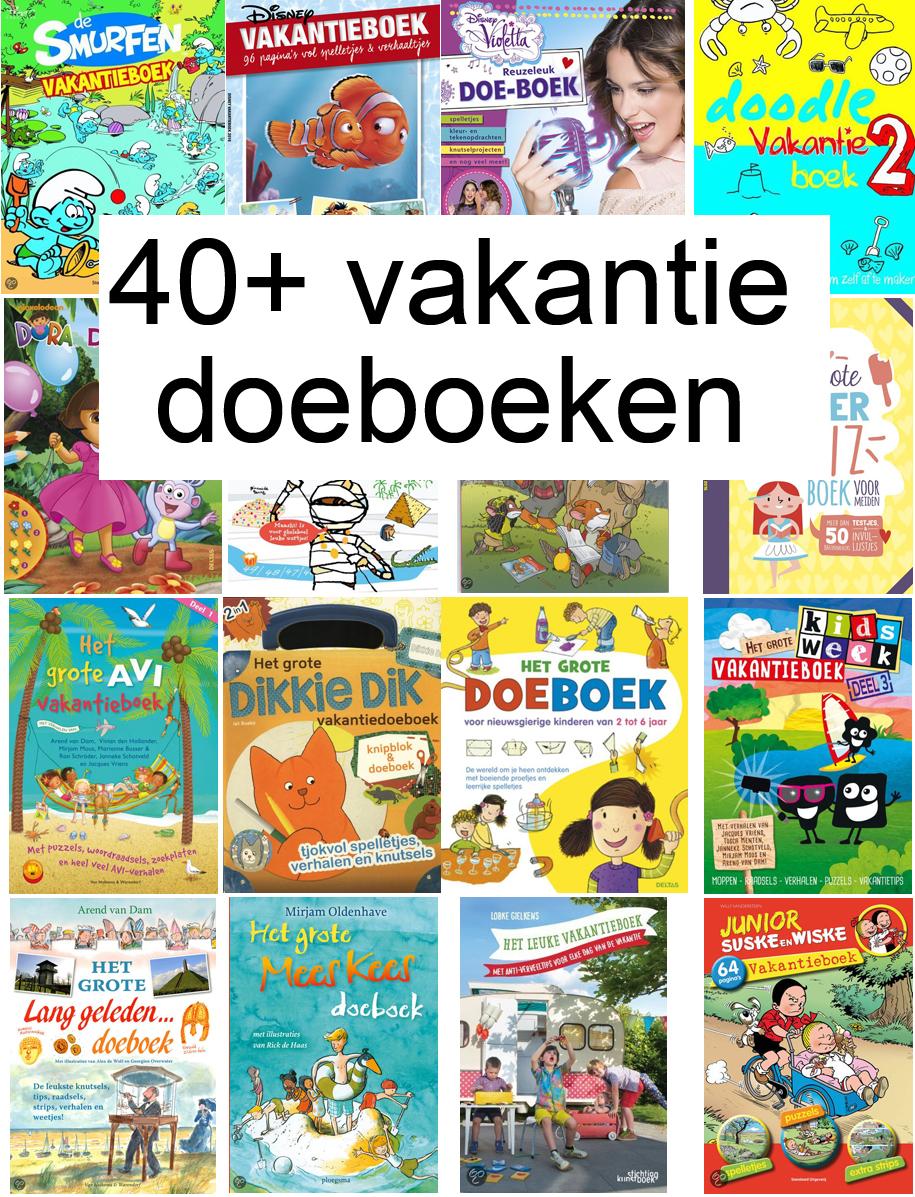 40-vakantiedoeboeken