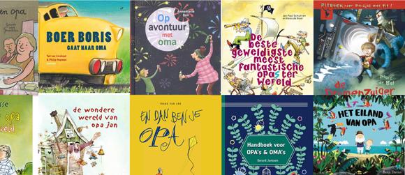 Kinderboekenweek 2016: de 50 leukste opa en oma boeken