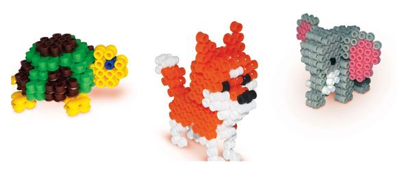3D Dieren maken met strijkkralen