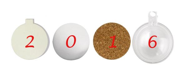 Kerstballen knutselen top 15 #1: de basis