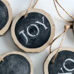 Kerstballen knutselen top 25 #5: schoolbordverf