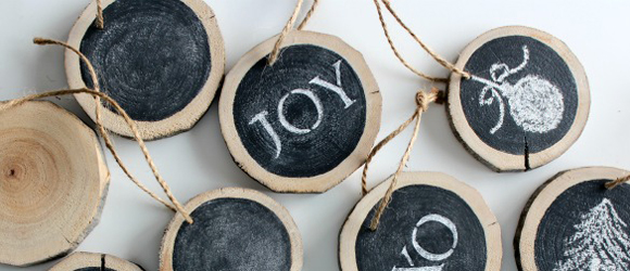 Kerstballen knutselen top 15 #5: schoolbordverf