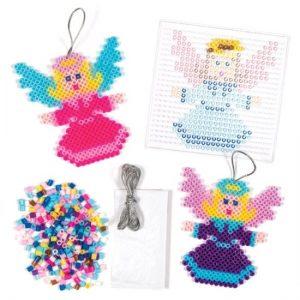 kerstballen-strijkkralen-engel