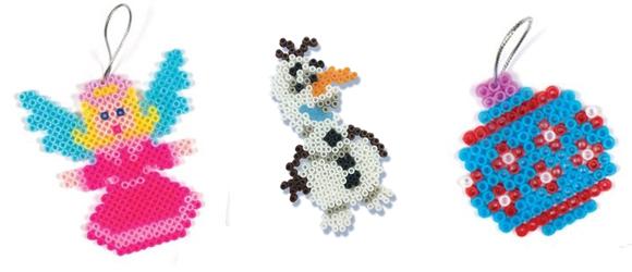 Kerstballen knutselen top 15 #4: strijkkralen