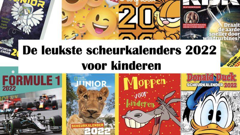De leukste scheurkalenders 2022 voor kinderen
